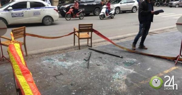 """3 người gặp nạn vì tấm kính từ """"trên trời"""" rơi xuống - Tin tức 24h"""
