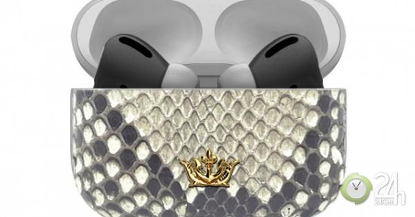 Caviar lại tung cặp AirPods Pro mạ vàng giá 1,5 tỷ đồng