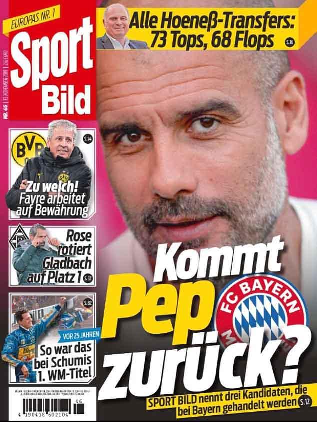 Chấn động Man City: Pep Guardiola tính bài chuồn, Bayern - Barca chờ gây sốc - 4