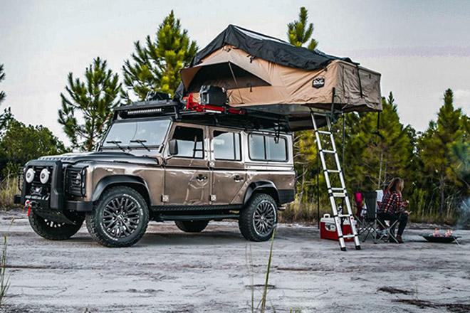 """Land Rover Defender ECD, xế """"phượt"""" dành cho người lắm tiền"""