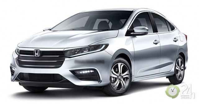 Honda City 2020 sắp ra mắt với động cơ mới 1.0 Turbo và tinh chỉnh về ngoại thất