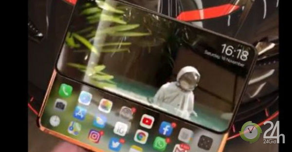 Ý tưởng iPhone Slide Pro siêu đẹp mắt với màn hình kép