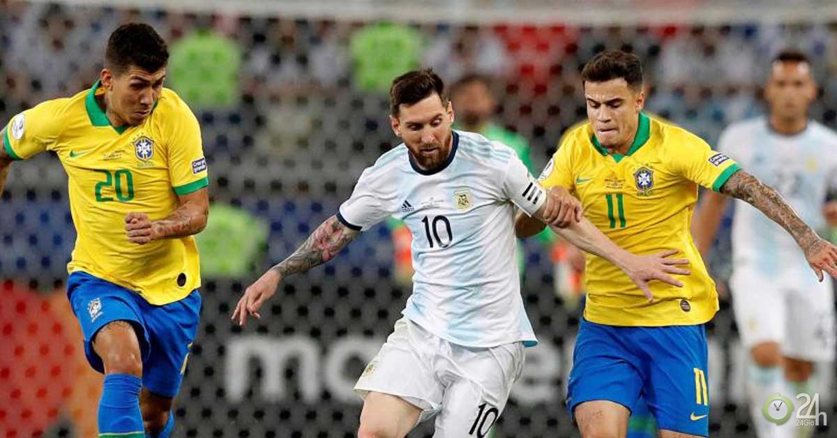 Brazil đấu siêu kinh điển với Argentina: Messi hừng hực tái xuất, chờ phá dớp buồn