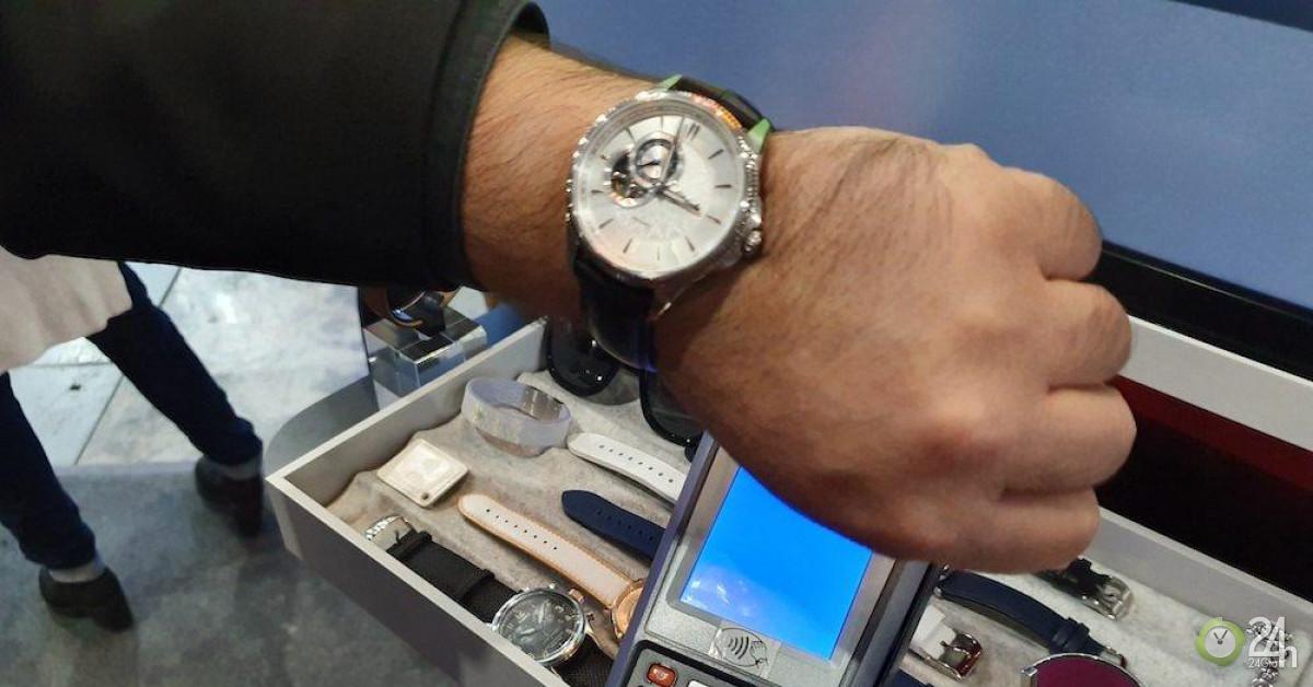 Công ty này muốn biến đồng hồ cổ điển của bạn thành thiết bị thanh toán