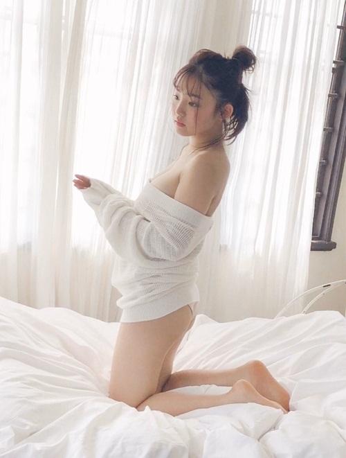 Hot girl mặt trẻ con, ngực khủng, chỉ cao 1m52 nhưng khiến bao người ngưỡng mộ - 6