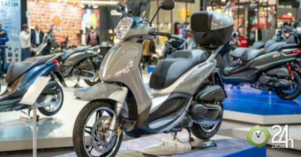 Cận cảnh 2020 Piaggio Beverly, đối thủ mạnh của 2020 Honda SH 300i