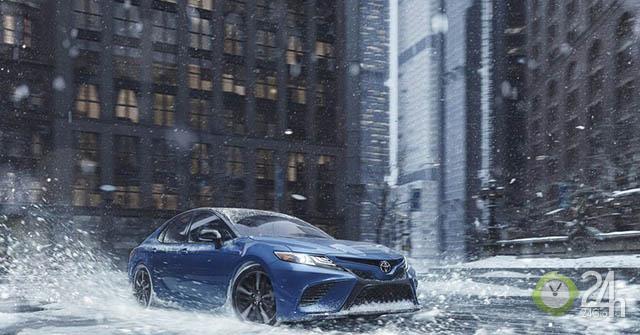 Toyota Camry và Avalon 2020 sắp có phiên bản dẫn động 4 bánh AWD