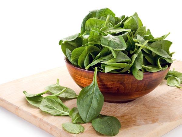 Những loại rau chứa nhiều sắt hơn thịt - 1
