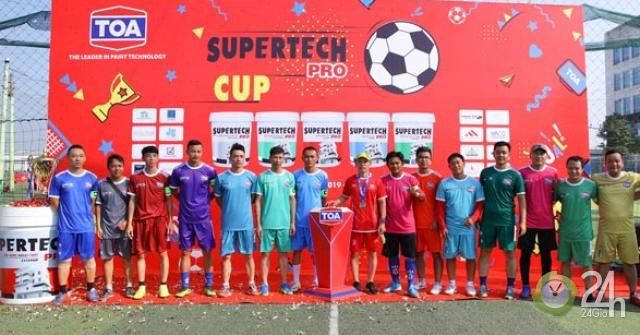 Supertech Pro Cup 2019 tưng bừng khai mạc
