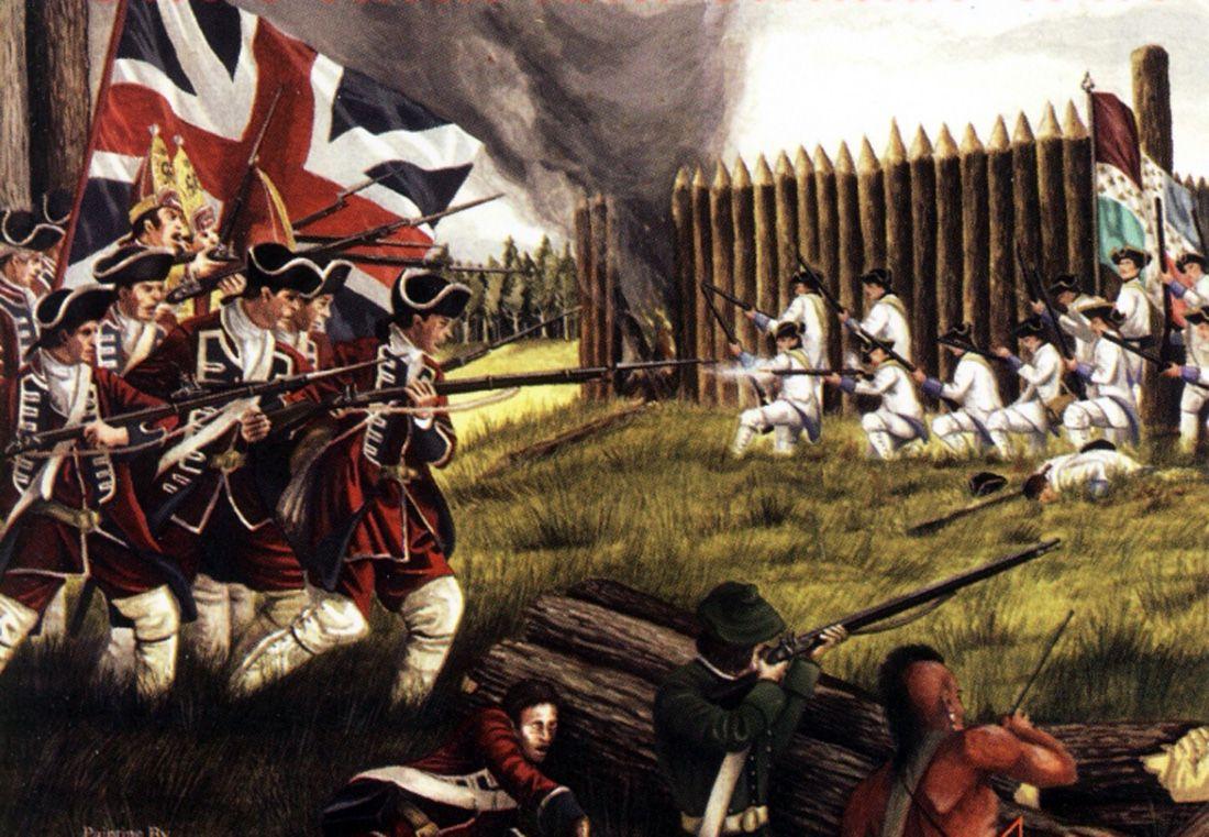 Cuộc chiến giúp Anh hất cẳng Pháp, chính thức thống trị toàn cõi thuộc địa ở nước Mỹ