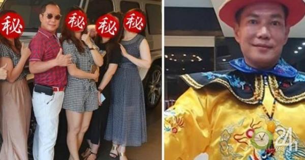 """Đại gia Đài Loan sống chung với 4 vợ, 16 người tình trong """"cung điện"""" 300 tỷ đồng-Thế giới"""