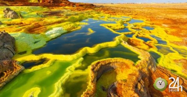 Nơi khắc nghiệt nhất trên Trái đất, không một sinh vật nào tồn tại-Thế giới