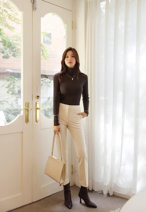 Công thức mix quần trắng hoàn hảo cho nữ công sở - 2