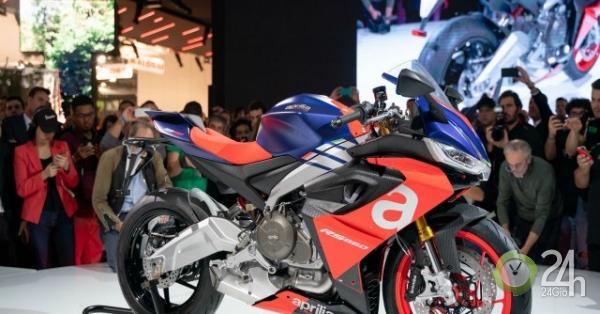 """Ngắm """"chiến mã"""" Aprilia RS 660 mới đét, gây sức ép cho Kawasaki Ninja 650"""