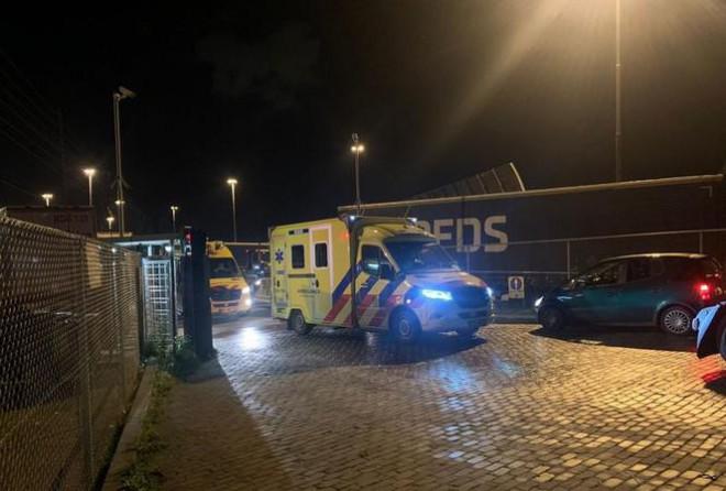 Phát hiện 25 người nhập cư co ro trong container đông lạnh trên phà vào Anh