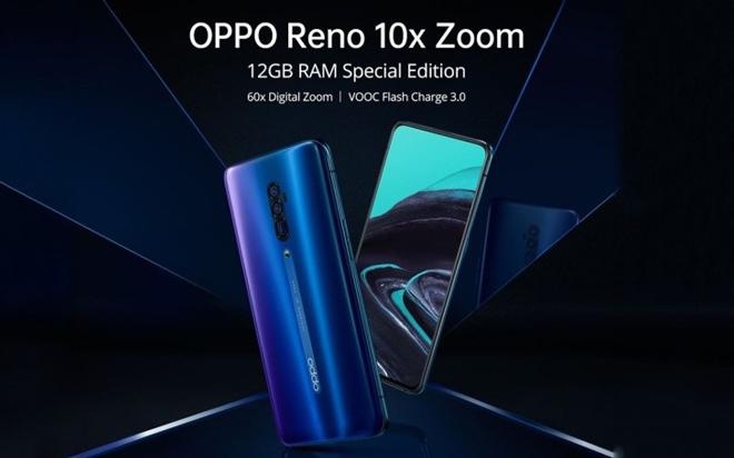 "Oppo chuẩn bị ""chơi trội"" với Reno 10x Zoom RAM 12GB - 1"