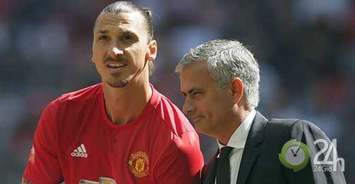 """""""Bom tấn"""" đầu tiên của Mourinho ở Tottenham: Ngỡ ngàng Ibrahimovic?-Bóng đá 24h"""