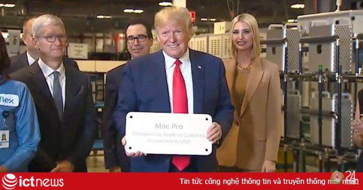 Tổng thống Trump muốn Apple phát triển 5G nhưng đó là điều bất khả thi