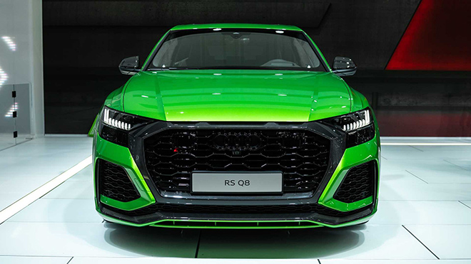 Audi RS Q8 - mẫu SUV mạnh nhất và nhanh nhất của Audi trình làng - 1