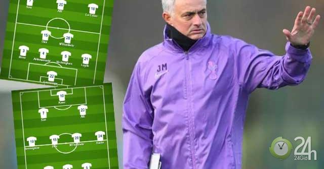 Đội hình Tottenham thời Mourinho: Sơ đồ tủ hay 3-4-3 cách tân?