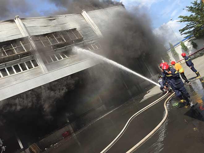 Công ty rộng hàng nghìn mét vuông ở Bình Dương bốc cháy ngùn ngụt - 3