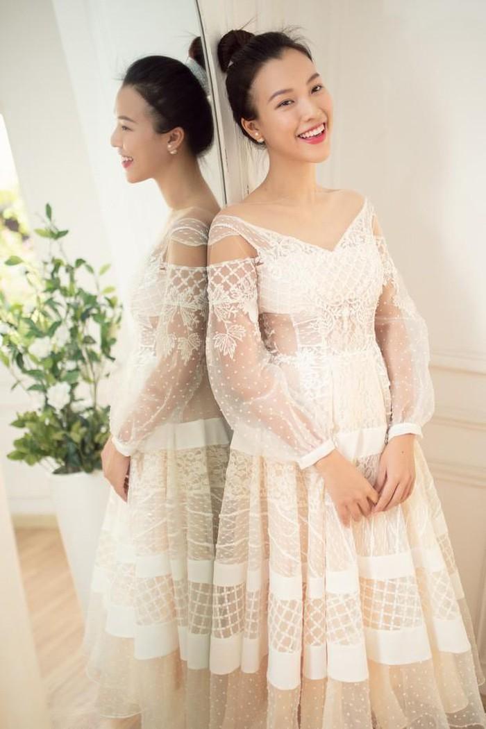 Gợi ý diện váy cưới xuyên thấu đẹp như Minh Hằng - 5