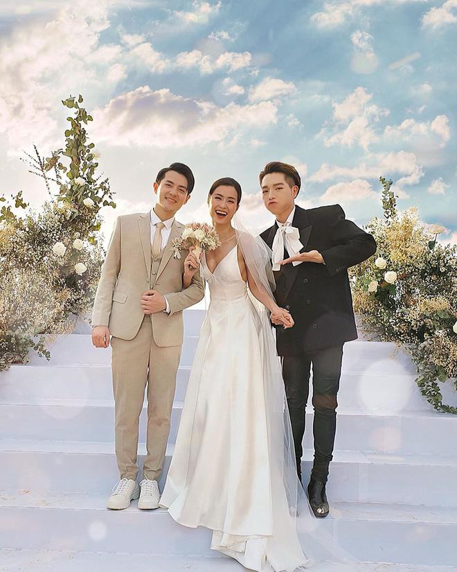 Gợi ý diện váy cưới xuyên thấu đẹp như Minh Hằng - 8