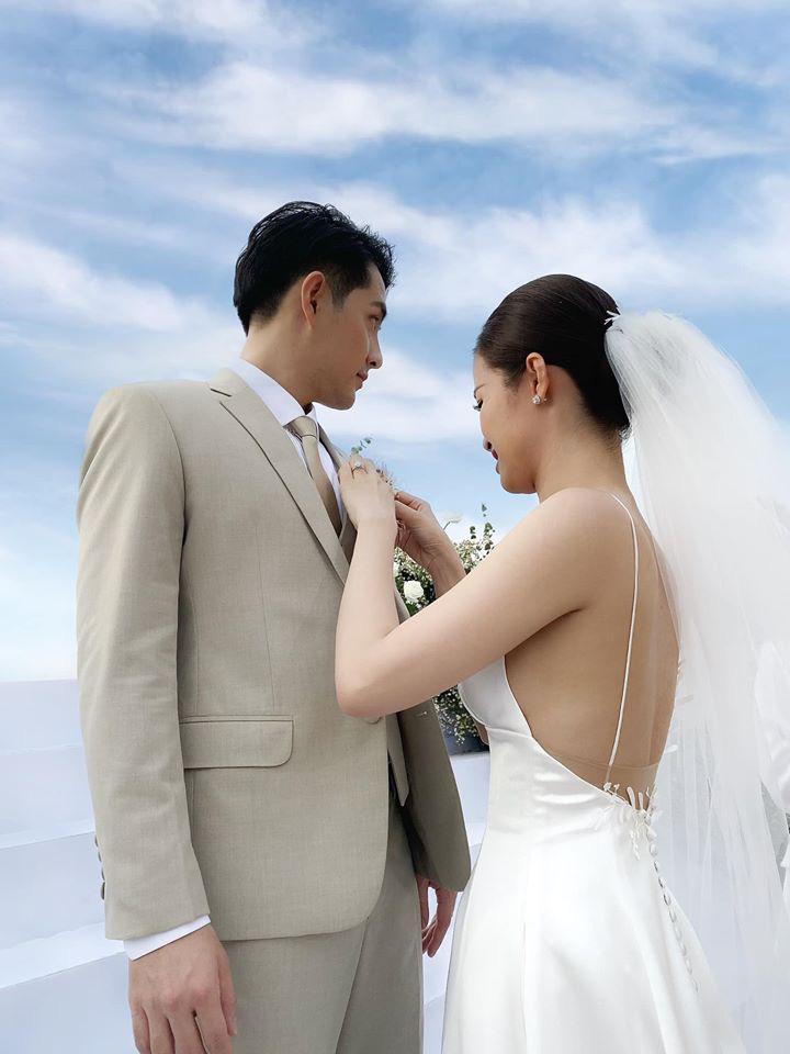 Gợi ý diện váy cưới xuyên thấu đẹp như Minh Hằng - 9