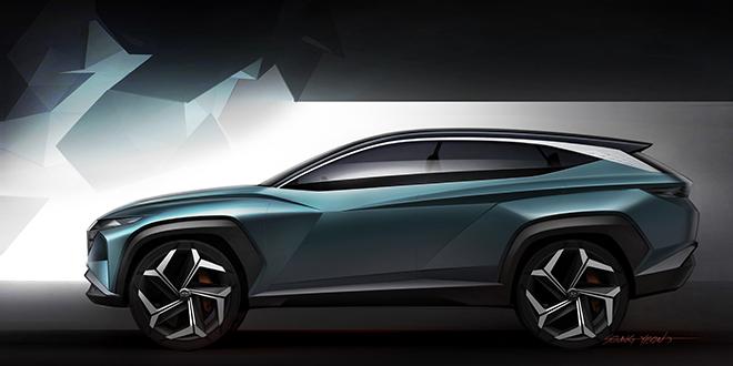Chiêm ngưỡng Hyundai Tucson thế hệ mới mang ngôn ngữ thiết kế tương lai - 2