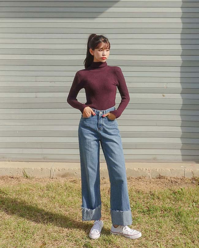 Muốn mặc quần jeans cạp cao đẹp mê thì phải biết những mẹo này - 4