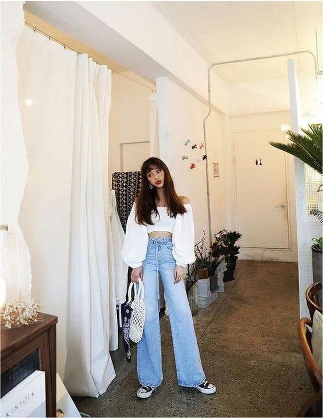 Muốn mặc quần jeans cạp cao đẹp mê thì phải biết những mẹo này - 5