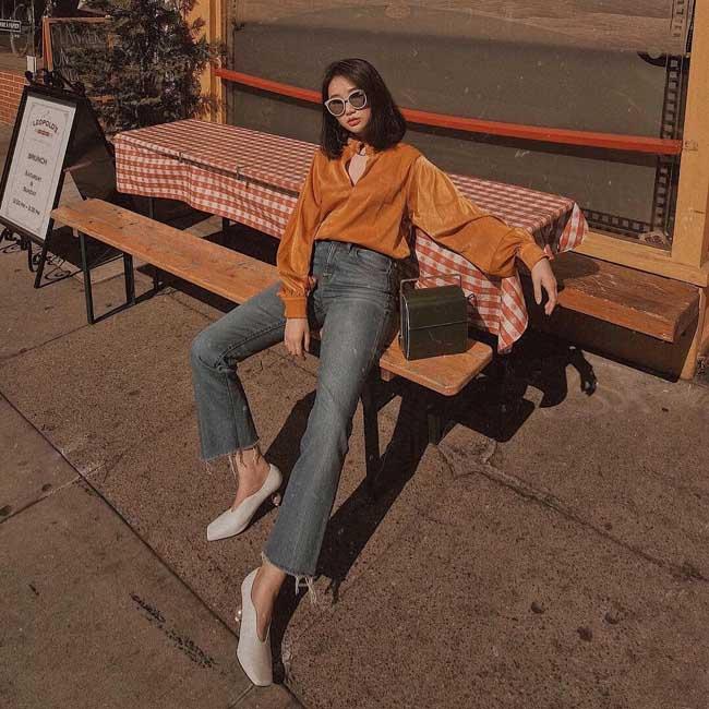 Muốn mặc quần jeans cạp cao đẹp mê thì phải biết những mẹo này - 9