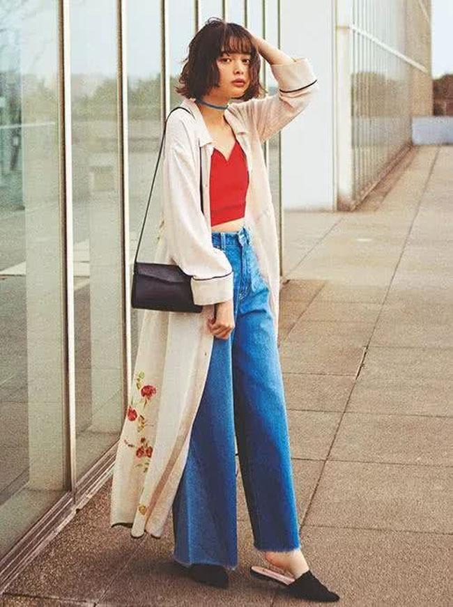 Muốn mặc quần jeans cạp cao đẹp mê thì phải biết những mẹo này - 8