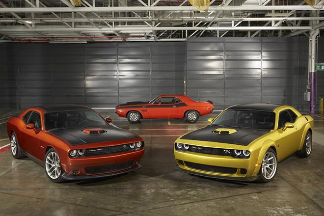 Dodge Challenger phiên bản đặc biệt kỷ niệm 50 năm dòng xe cơ bắp biểu tượng - 1
