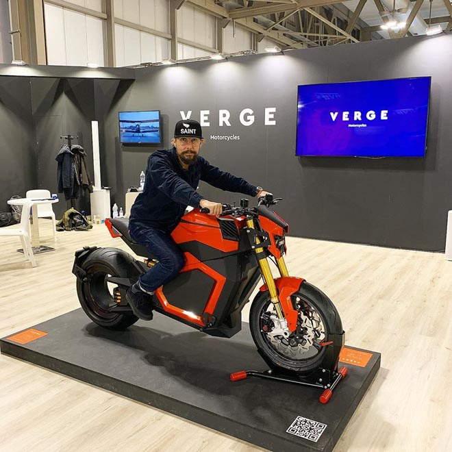 Siêu xe điệnVerge TS đến với công chúng, mô-men xoắn tới 1.000 Nm - 1