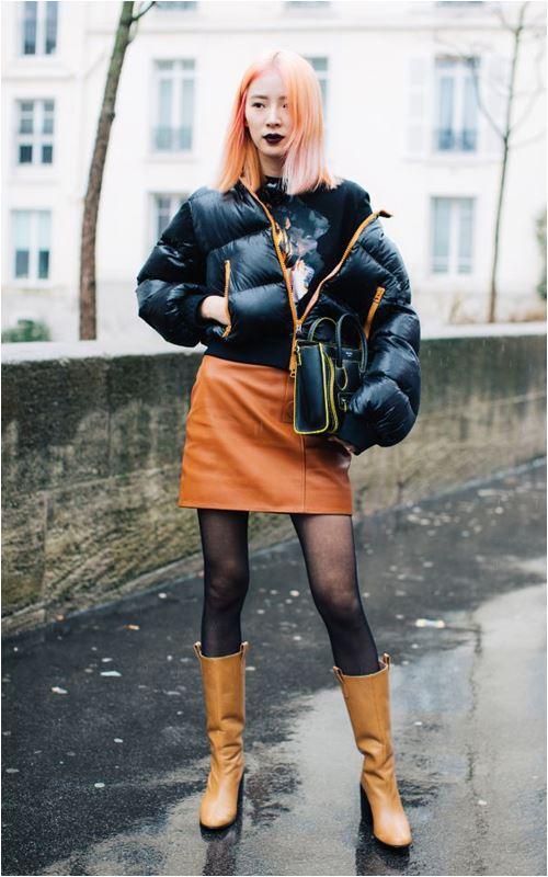 3 cách để trời lạnh co ro vẫn tự tin mặc váy điệu đà - 4