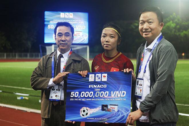 PINACO thưởng nóng 50 triệu đồng cho Dương Thị Vân vì siêu phẩm phá lưới người Thái - 2