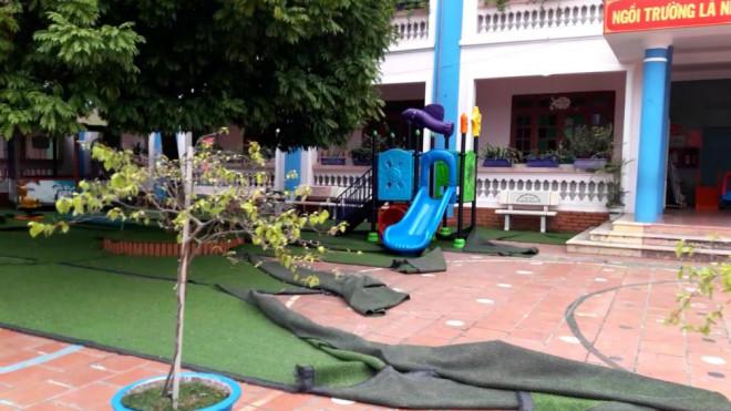 Bé 3 tuổi tử vong vì chơi cầu trượt: Ba cô giáo đứng lớp bị đình chỉ là ai? - 1