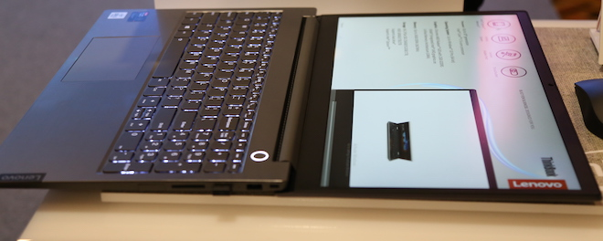Lenovo giới thiệu ThinkBook 14/15 xoay 180 độ, chạy Intel Core i thế hệ 10 - 3