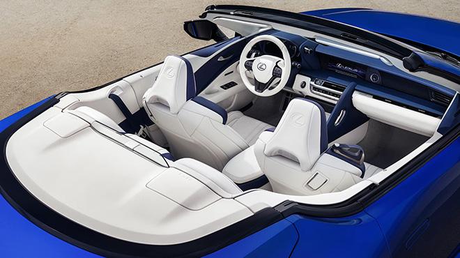 Chính thức ra mắt Lexus LC 500 mui trần tại triển lãm ô tô Los Angeles - 8