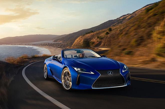 Chính thức ra mắt Lexus LC 500 mui trần tại triển lãm ô tô Los Angeles