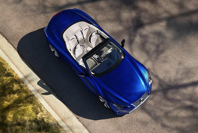 Chính thức ra mắt Lexus LC 500 mui trần tại triển lãm ô tô Los Angeles - 2