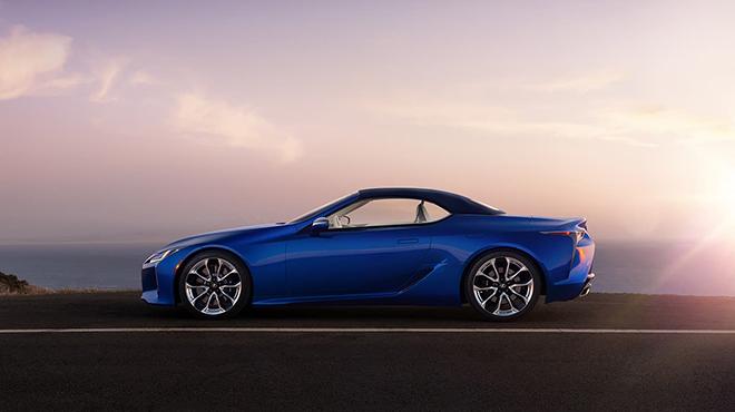 Chính thức ra mắt Lexus LC 500 mui trần tại triển lãm ô tô Los Angeles - 3