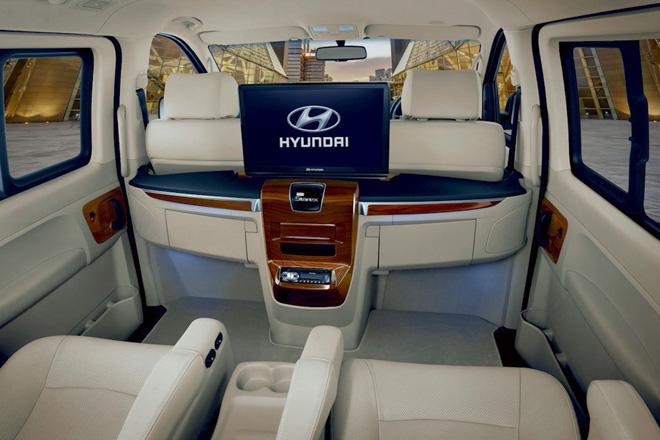 Hyundai giới thiệu dòng xe H1 và Grand Starex phiên bản nâng cấp tại Thái Lan - 10