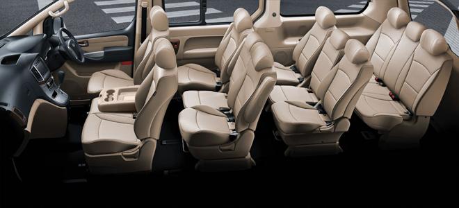 Hyundai giới thiệu dòng xe H1 và Grand Starex phiên bản nâng cấp tại Thái Lan - 7