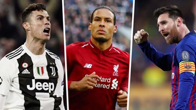 Trao giải Quả bóng vàng: Ronaldo thua vì đến Juventus, Messi thắng Van Dijk?