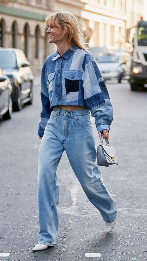 Quần jeans cũ mix với 6 kiểu áo này chỉ có đẹp trở lên - 2
