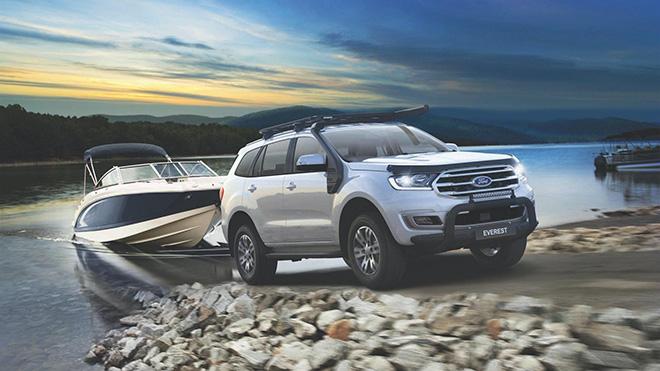 Ford chiều lòng khách hàng sử dụng Everest bằng gói phụ kiện chất - 1