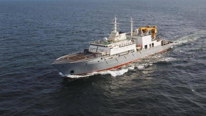 Tàu cứu hộ Nga đến Cam Ranh tham gia tập trậnvới Việt Nam trên Biển Đông - 1