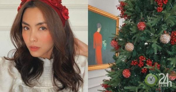 """Vợ chồng Cường Đô La, Tăng Thanh Hà... trang trí Giáng sinh trong """"siêu biệt thự"""" - Ngôi sao"""